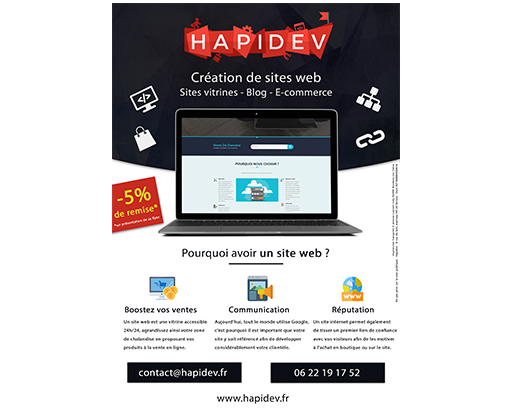 creation logo hapidev
